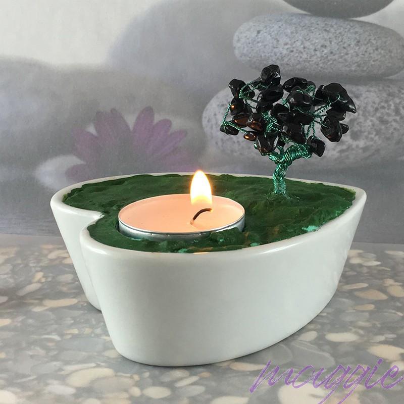 Svečnik Drevo življenja Oniks