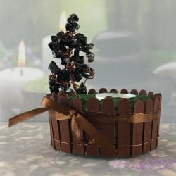 Svečnik Drevo življenja Ahat