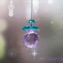 Lovilec sonca Angel kristal moder